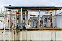 Nitrogen chemical plant Royalty Free Stock Photography