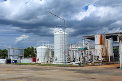 Nitrogen chemical plant for factory Stock Photography