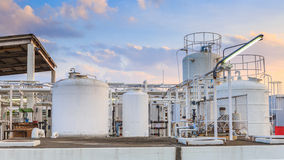 Nitrogen chemical plant for factory Stock Images