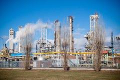 Nitrogen Chemical plant in Poland Stock Photo