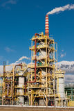 Nitrogen Chemical plant in Poland Stock Photos