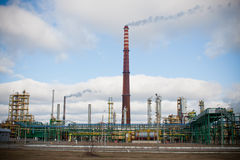 Nitrogen Chemical plant in Poland Royalty Free Stock Photos