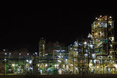 Nitrogen Chemical plant in Poland Royalty Free Stock Images