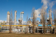 Nitrogen Chemical plant in Poland Royalty Free Stock Photography