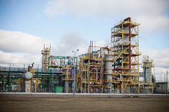 Nitrogen Chemical plant in Poland Royalty Free Stock Photo