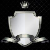 Nitt sköld- och silverband. Royaltyfria Bilder