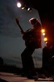 Nitty - festival 2012 di musica granuloso di beatitudine della fascia della sporcizia Fotografia Stock
