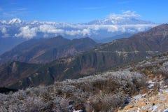 Niubei berg Fotografering för Bildbyråer
