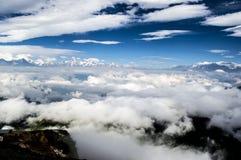 Niubei berg, Sichuan Kina Royaltyfri Fotografi