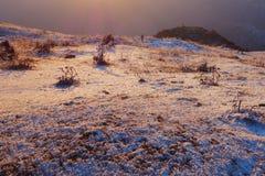 Niubei mountain sunrise Stock Image