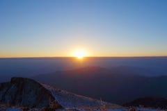 Niubei mountain sunrise Stock Photos