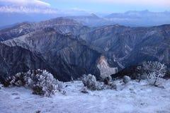 Niubei snow mountain in dawn Stock Photography