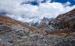 Niunaihai Yading, Qinghai 2 Arkivfoton