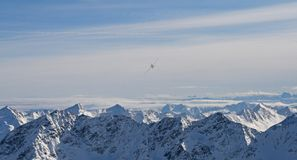 Nivå över berg Royaltyfri Bild