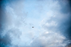 Nivå bland molnen Arkivbilder