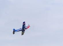 Nivå för österrikare PC-7 Pilatus Royaltyfria Foton