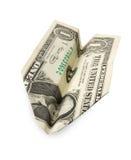 nivå för dollar en arkivbilder