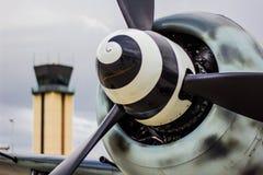 Nivå för FW 109 Warbird Arkivbilder