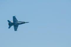Nivå för kämpe F-18 royaltyfria foton
