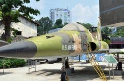 nivå för minh för ho för bombplanchistad oss vietnam Royaltyfri Foto
