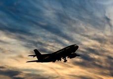 Nivå i sky Arkivfoto