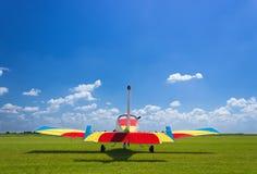 Nivå på Airshow royaltyfri foto