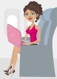nivåkvinna royaltyfri illustrationer