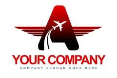 Nivån Wings logo stock illustrationer