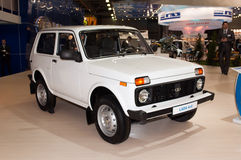 NIVA - Legendary russian off-road vehicle Royalty Free Stock Images