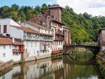 Free Nive River - Saint Jean Pied De Port Stock Images - 117191884