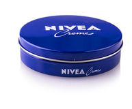 Nivea global skin- and body-care brand Royalty Free Stock Photos