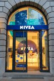 Nivea shop Royalty Free Stock Images