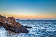 Niveau de la mer Photos libres de droits