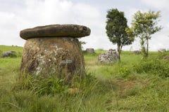Niveau de la poterie au Laos Photo stock