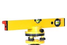 Niveau de laser Photo libre de droits