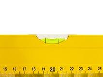 Niveau jaune Image stock
