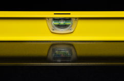 Niveau jaune Images stock