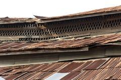 Niveau rouillé de toit Image stock