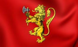 Niveau royal de la Norvège Photographie stock libre de droits
