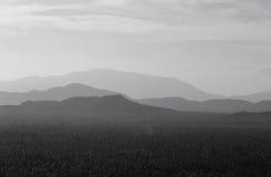 Niveau van berg Stock Afbeelding