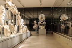 Niveau 3 van het akropolismuseum Royalty-vrije Stock Foto