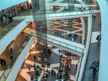 Niveaux de centre commercial Images stock