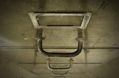 Niveaux focalisés de vieux tiroir pour des documents Image libre de droits