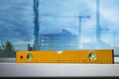 Nivel amarillo Fotografía de archivo