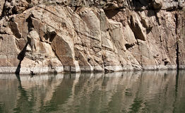 Nivel del agua del depósito Imagen de archivo