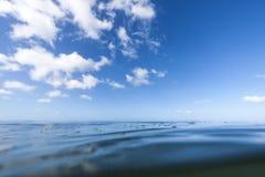 Nivel del mar Fotografía de archivo