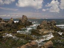 Nivel del mar Fotografía de archivo libre de regalías