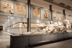 Nivel 3 del museo de la acrópolis Imagen de archivo