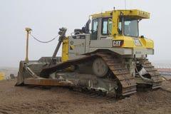 Niveladora del CAT D6T LGP de Boskalis Caterpillar Imagen de archivo