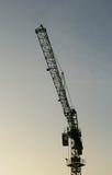 Nivelamento dos guindastes de construção Fotos de Stock Royalty Free